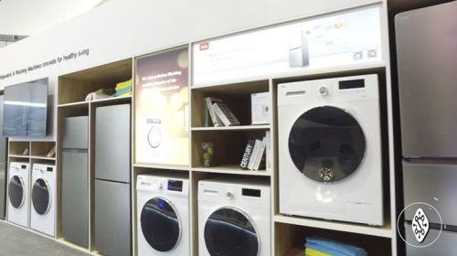 [视频直击IFA]:诠释务实创新 TCL免污式洗衣机亮相德国IFA