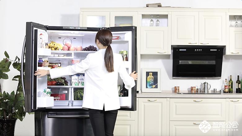 多少都能装!怎么装都行!三星美式空间冰箱装出自由范 智能公会