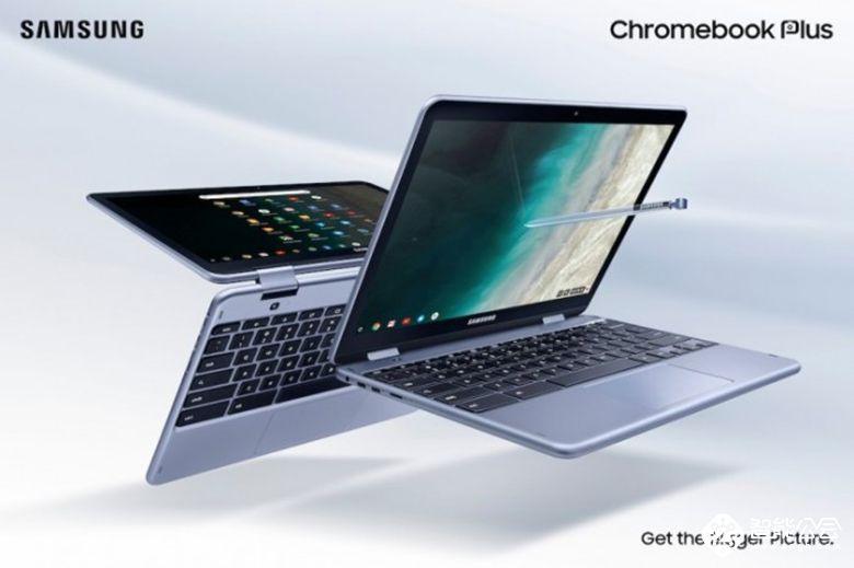 360度可翻转 三星Chromebook Plus变形笔记本电脑 智能公会