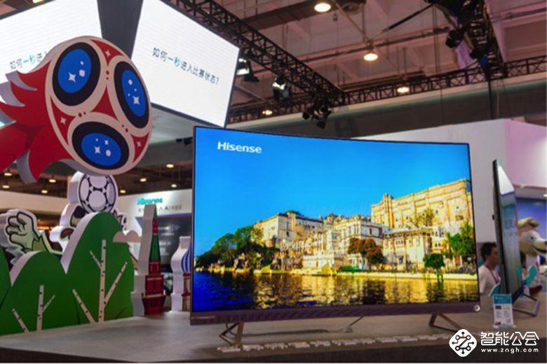 激光AI电视畅爽夏日 海信世界杯电视集中亮相SINOCES 智能公会