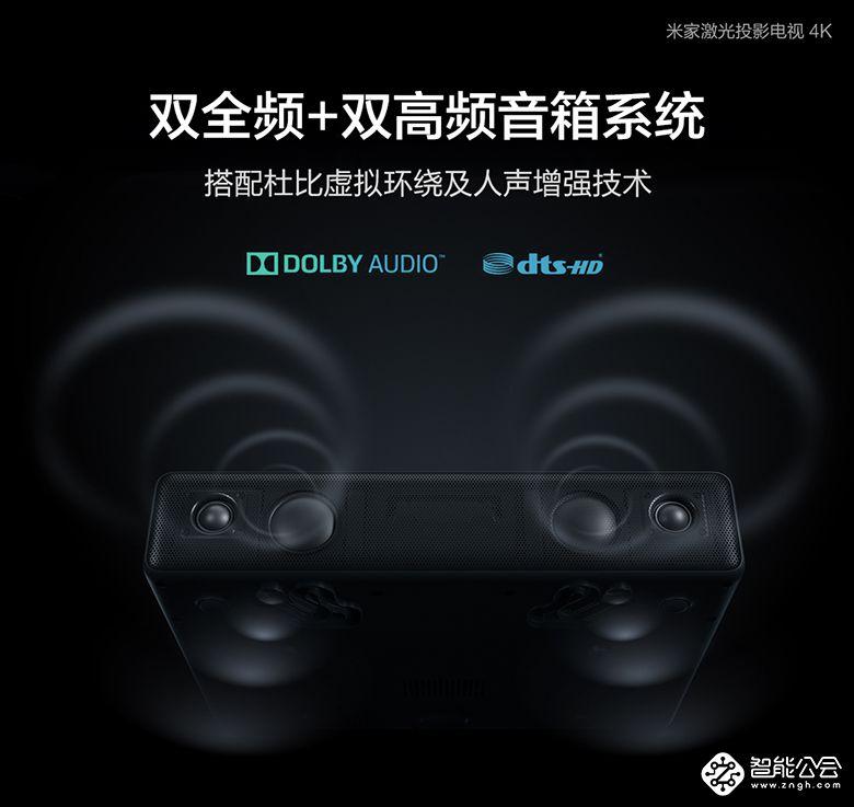 米家激光投影电视4K版发布 小米商城上线小米优选频道首发2款新品 智能公会