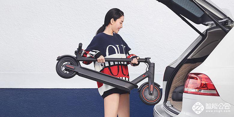 性能升级动力更强劲 小米米家电动滑板车Pro发布 智能公会