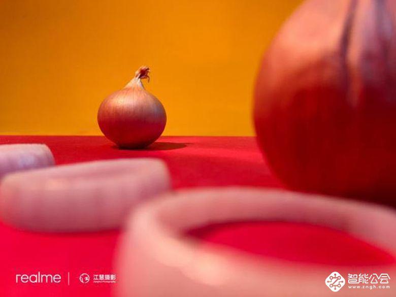 洋葱、白蒜呛出艺术之美 realme把快闪店开进了菜市场 智能公会