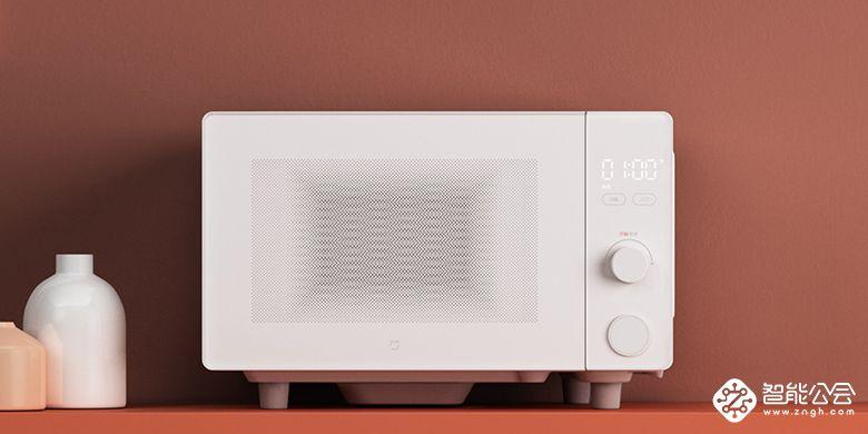 微晶平板速热:再多汤食也不撒 米家微波炉正式开卖售399元  智能公会