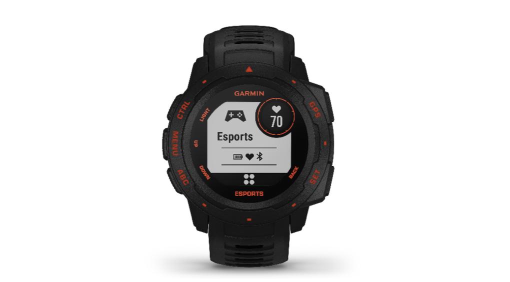 追踪分析及直播健康表现 Garmin Instinct Esports本能电竞版发布 智能公会